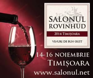 Salonul ROVINHUD Timisoara - vinuri de bun gust