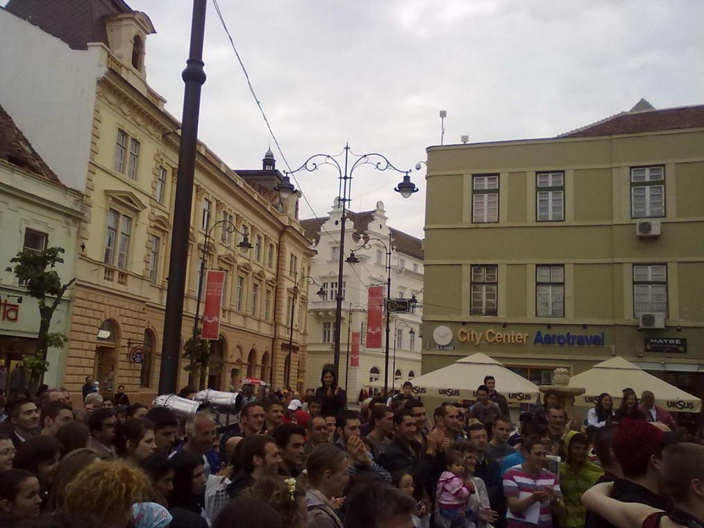 Sibiu in strada