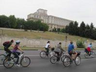 bikewalk la palatul parlamentului