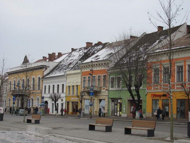 eroilor Cluj pietonal