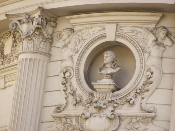 detalii cladire istorica bucuresti