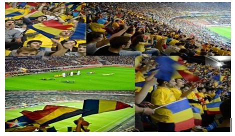 tribuna meci fotbal suporteri