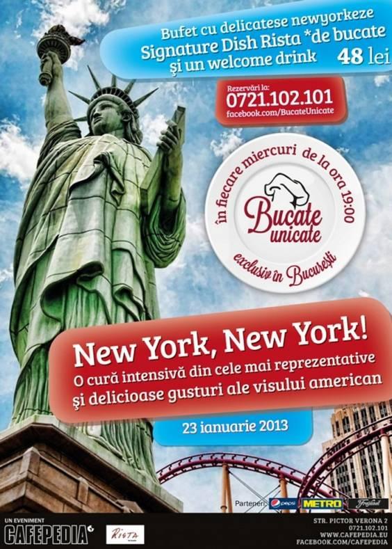 Bucate Unicate_Seara New York, New York_Rista de bucate_FB1