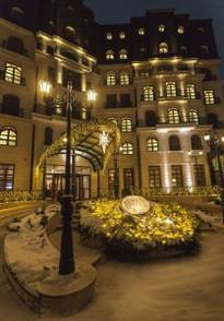 Epoque Hotel_winter night