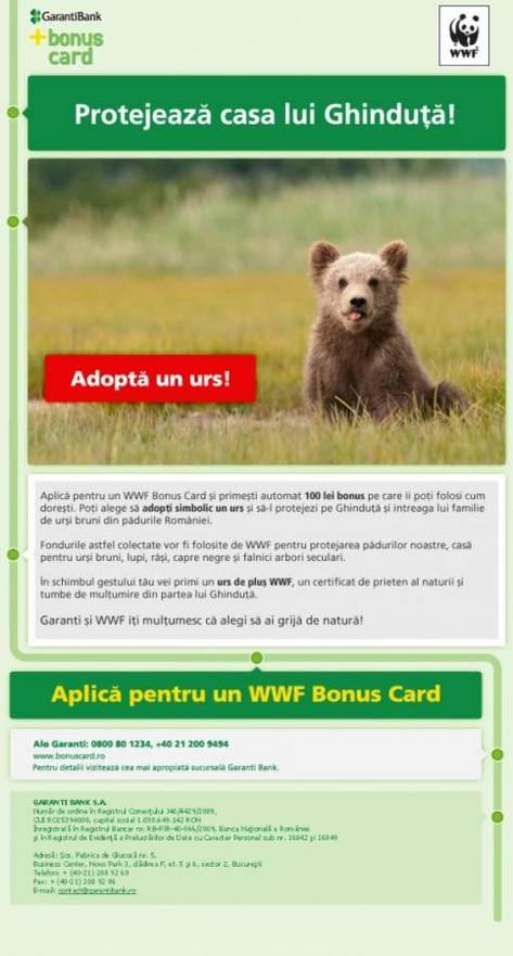 Foto WWF Bonus Card