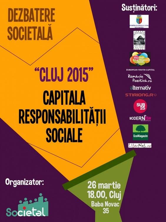 Afis dezbatere Cluj 2015 - 26 martie- v2