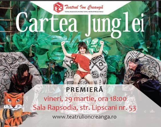 Afis_Cartea junglei_Teatrul_Ion_Creanga