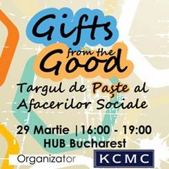 Gifts from the Good - Targul de Paste al Afacerilor Sociale