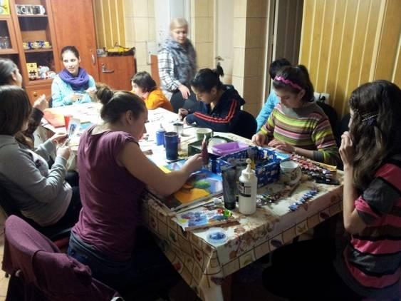atelier de creatie pictura_genti din reviste_felicitari