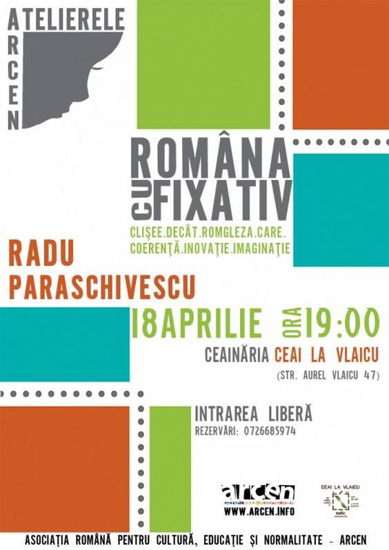 Afis-Radu Paraschivescu final