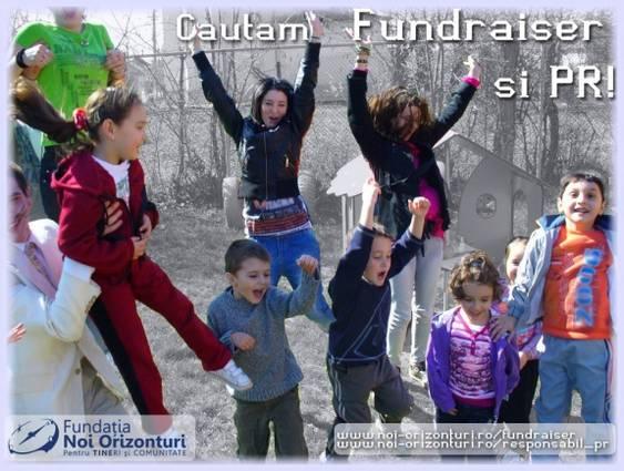 Fundatia Noi Orizonturi - cautam Fundraiser si Specialist PR