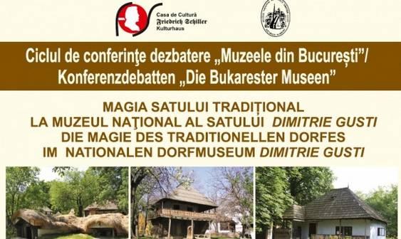 conferinta muzeul satului