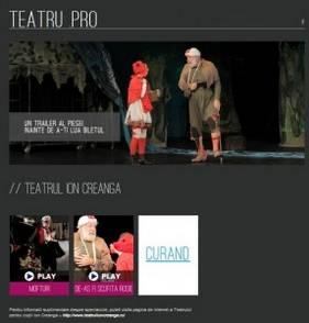 Teatrul Ion Creanga pe teatru.pro