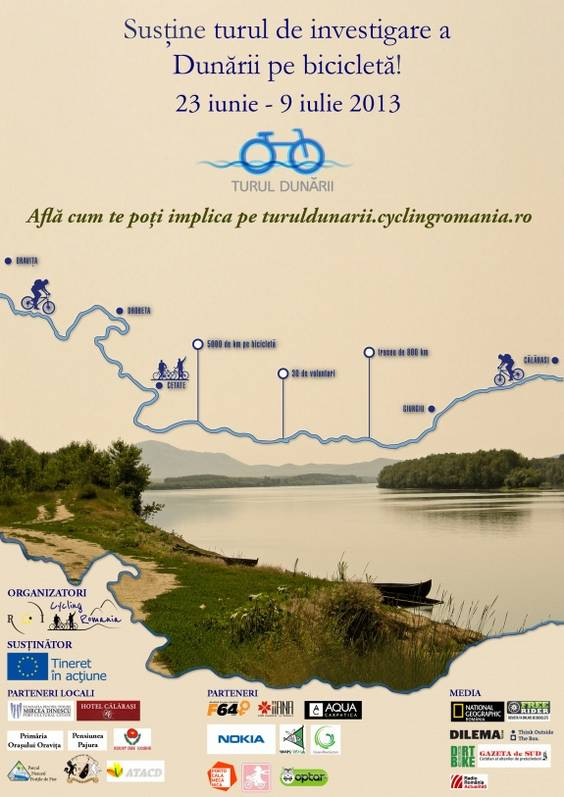 afis Turul Dunarii