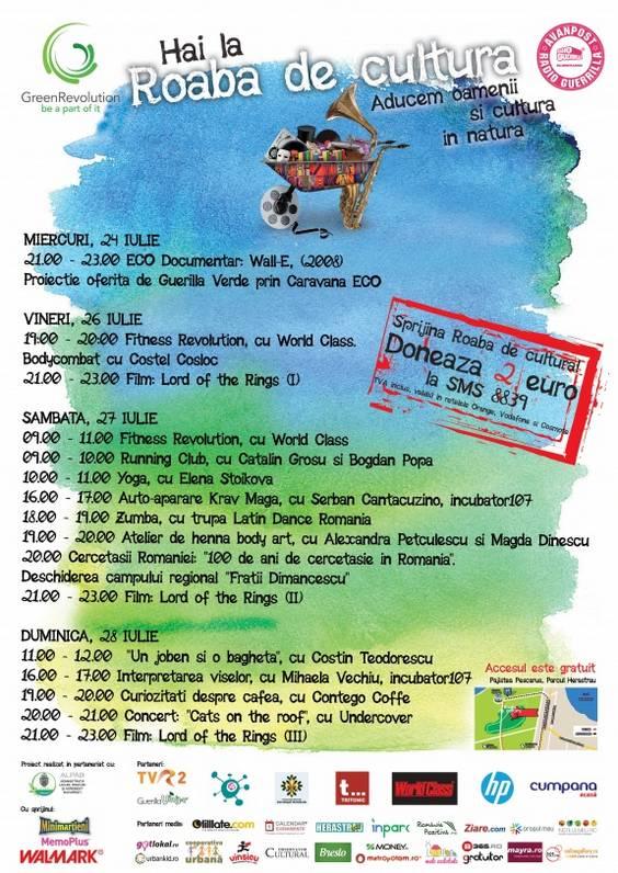 Afis Roaba 22-28 iulie