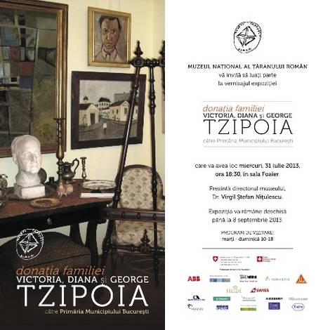 Invitatie expo Donatie Tzipoia