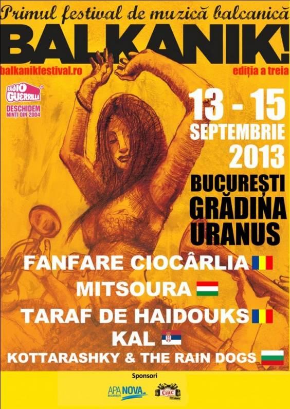 Poster Balkanik 2013
