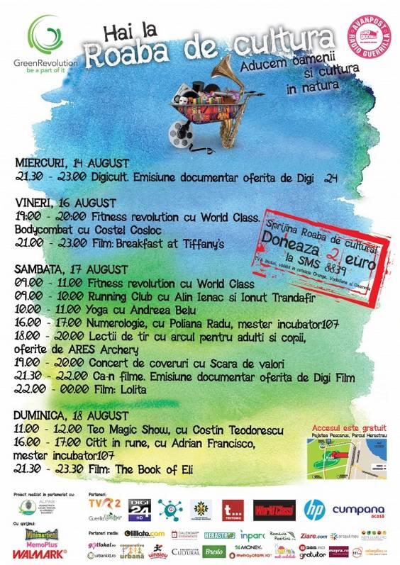 Afis Roaba 12 - 18 august