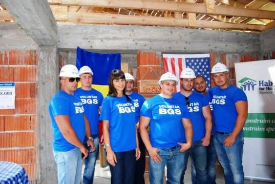 AmeriCan-Do build, 26 iul (1), voluntarii BGS