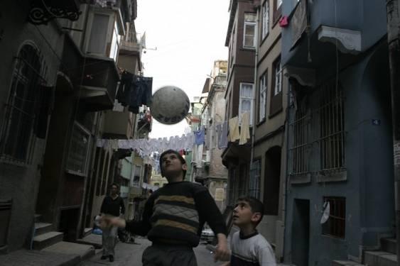 Turcia - copii la joaca