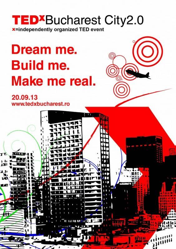 Vizual final. TEDxBucharest City2.0