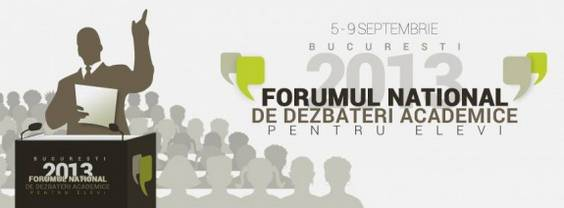 forumul national de dezbateri