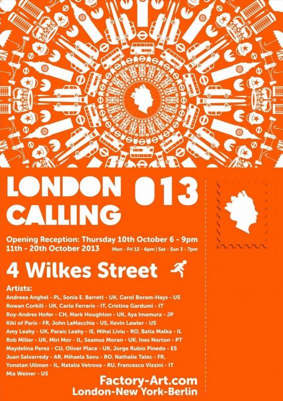 Afis London Calling