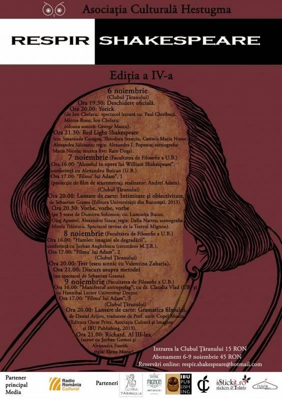 Afis Respir Shakespeare IV
