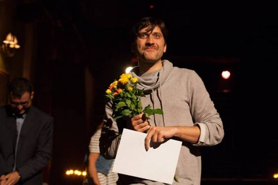 Matei Chioariu premiat la Bucharest Finge. Foto Vlad Catana