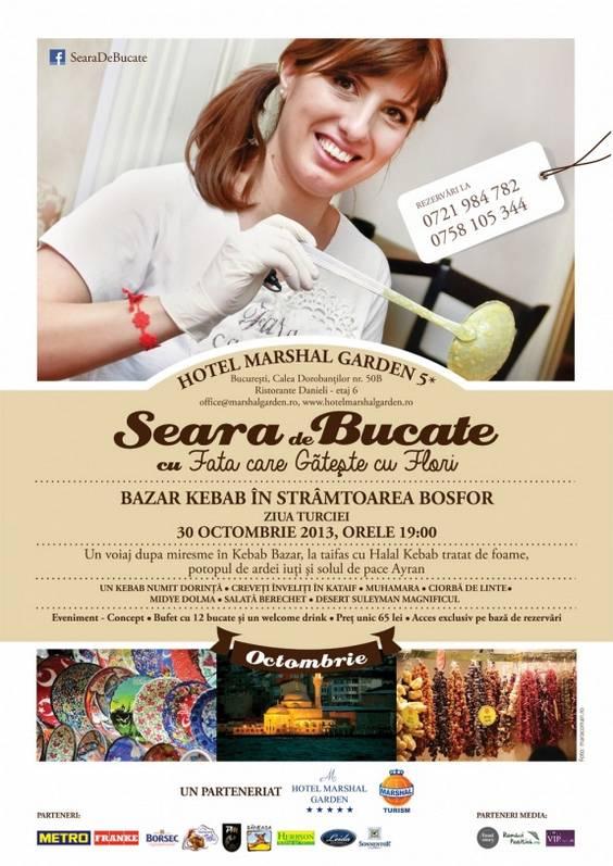 Poster _A2_Seara de bucate-30-oct-TURCIA