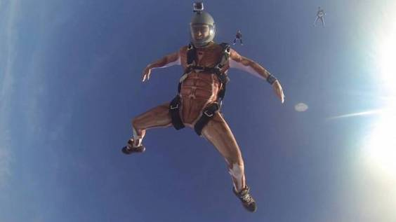 Skydiver costume TNT Brothers