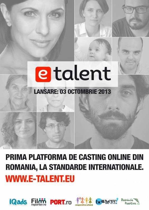 Vizual E-talent Romania Pozitiva