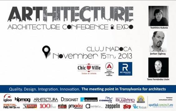 arhitectura cluj conferinta