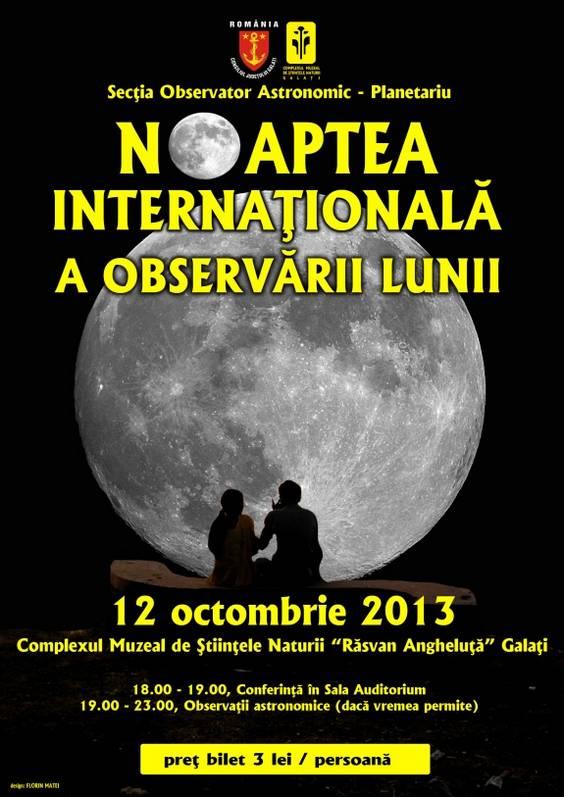 macheta poster Luna