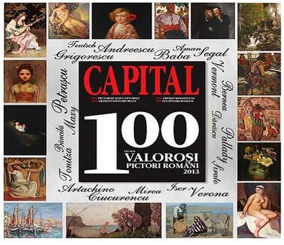 top 100 pictori capital