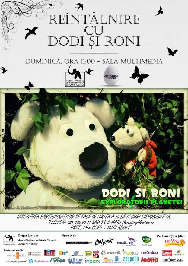afis_Reintalnire cu Roni si Dodi