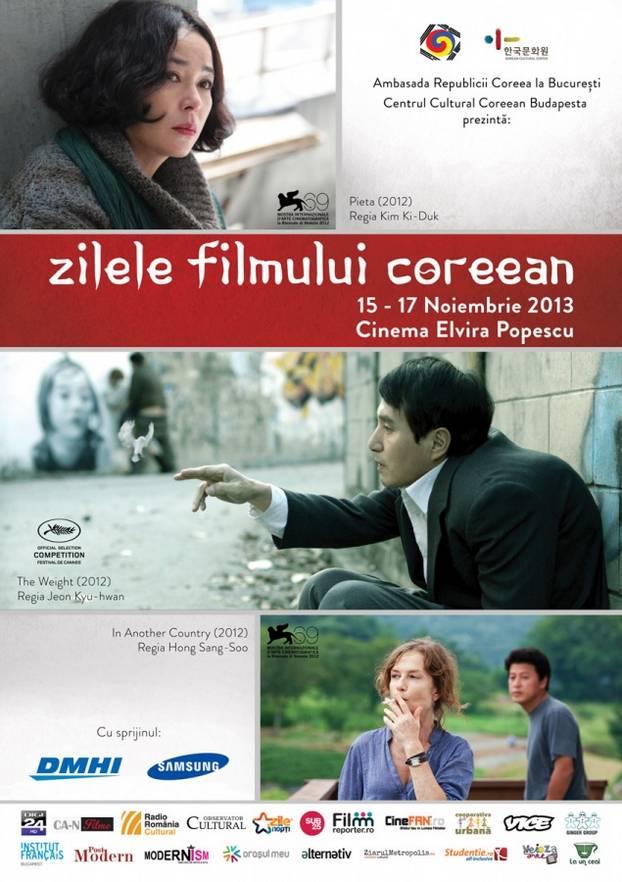afis_Zilele Filmului Corean