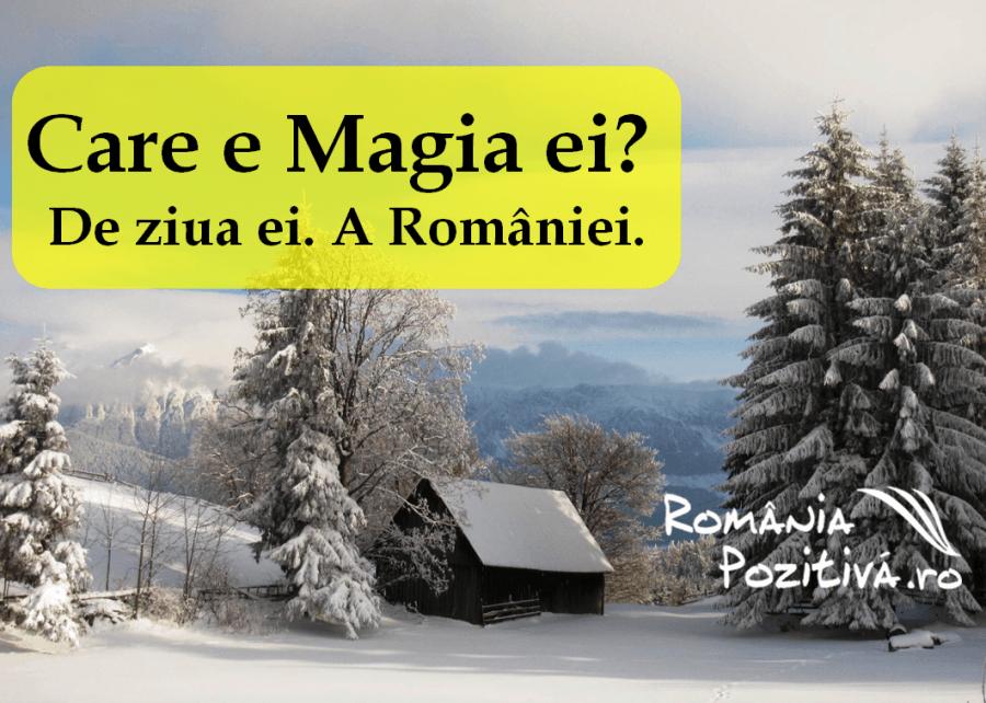 care e magia ei RomaniaPozitiva 2013