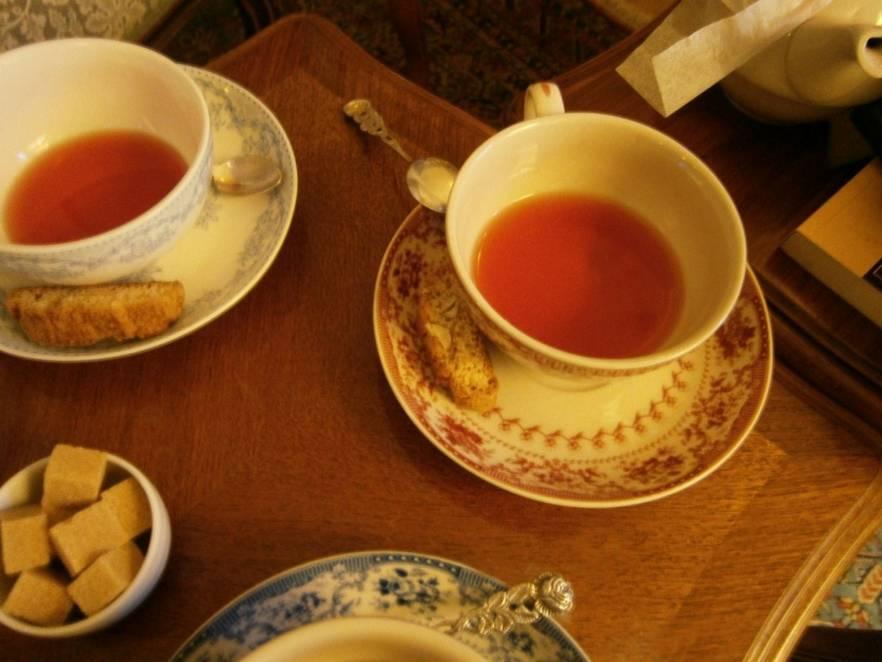 ceai la infinitea