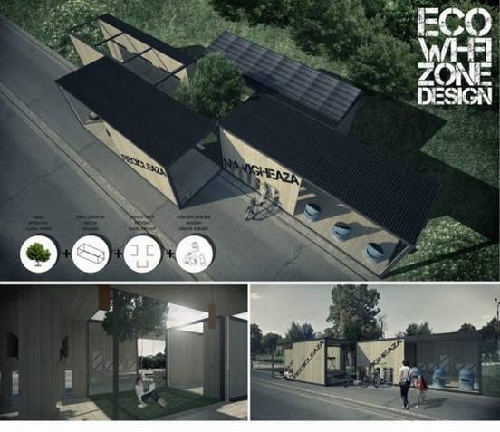 Locul III_Eco Wi-Fi Zone Design