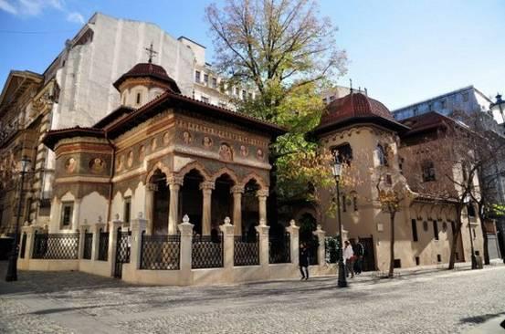 Locuri frumoase din Bucuresti - Biserica Stavropoleos
