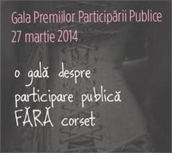 gala premiilor participarii publice 2014