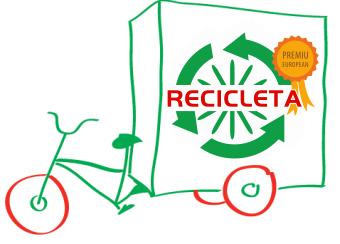 recicleta desen
