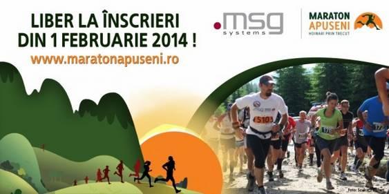 Imagine - Liber la inscrieri pentru Maraton Apuseni 2014