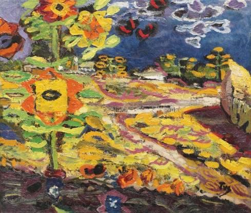 Ion Tuculescu, Floarea-soarelui