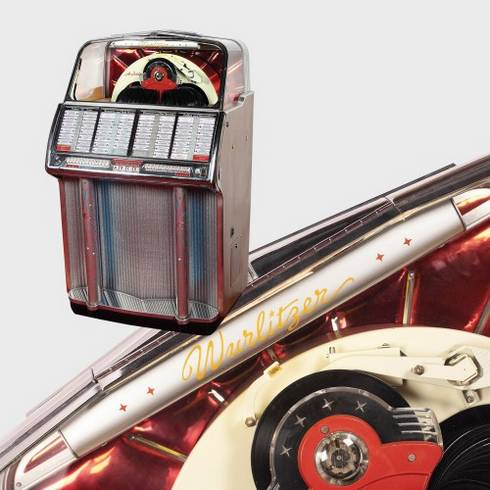 Jukebox Wurlitzer, 1954