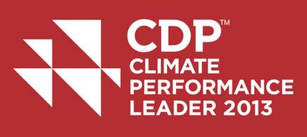 Logo- Climate Performance Leader 2013