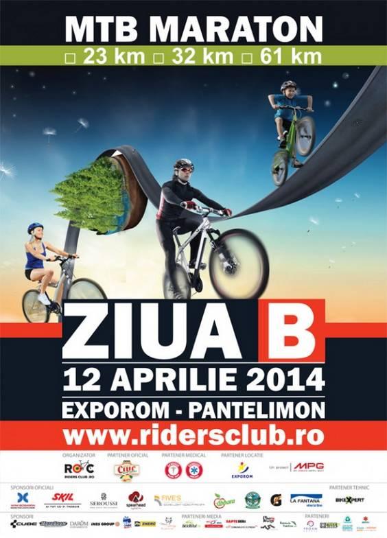 Afis eveniment Ziua B (12 aprilie)