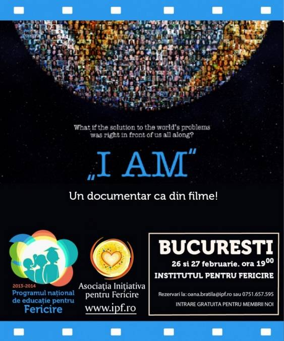 difuzare documentar I AM