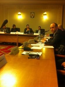 Sedinta Comisiei de Mediu,  25.02